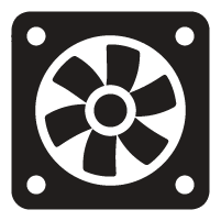 Cooling and Lighting Icon