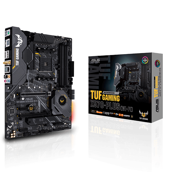 Asus TUF GAMING X570-PLUS (WI-FI)-image