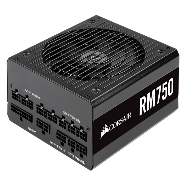 CORSAIR RM750 2019 750W 80+ Gold Fully Modular PSU-image