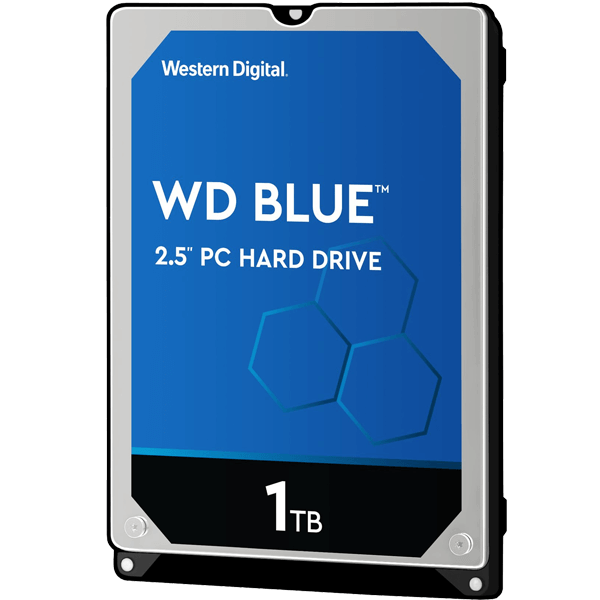 WD Blue 1TB 128MB WD10SPZX Laptop Hard Disk-image