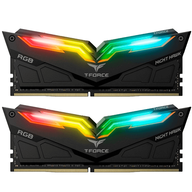 T-FORCE GAMING NIGHT HAWK RGB 16GB (2 x 8GB) 4000Mhz-image