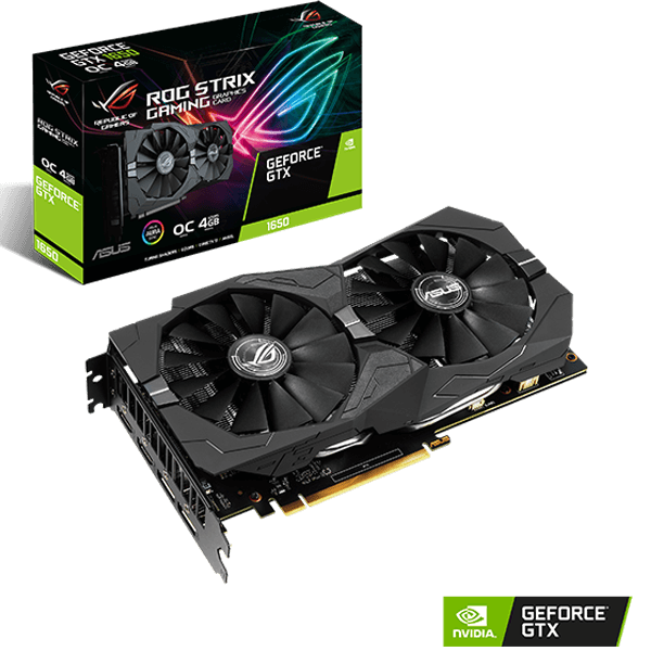 ASUS ROG STRIX GTX1650 4G GAMING 4GB DDR6-image