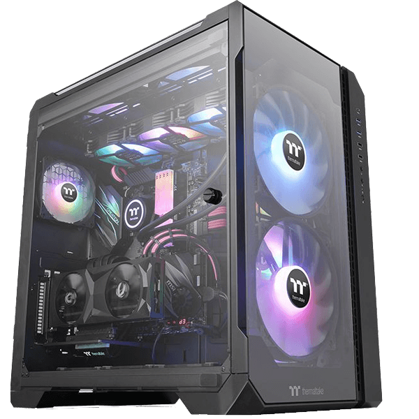 Thermaltake  View 51 Tempered Glass ARGB Edition-image
