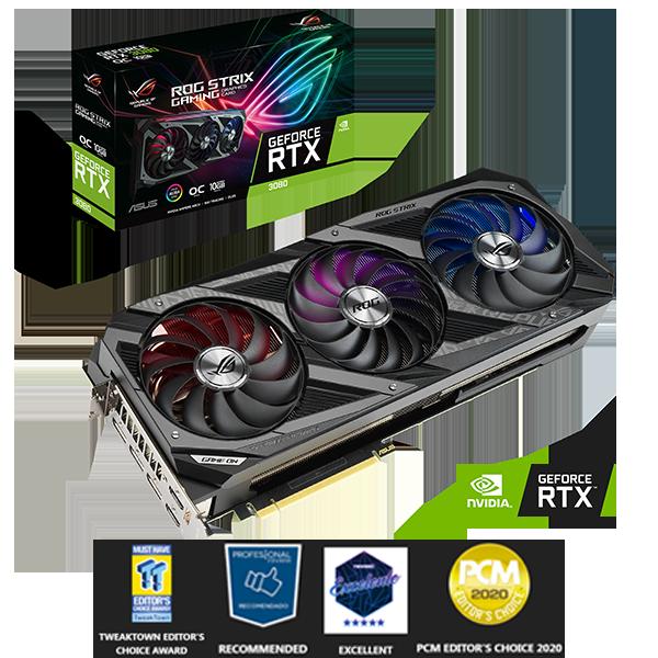 ASUS STRIX GAMING GeForce RTX™ 3080 10GB-image