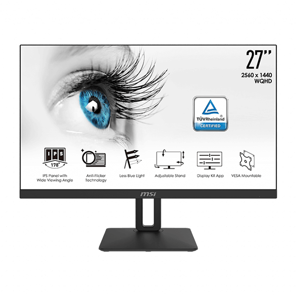 MSI 27 PRO MP271QP IPS 2K PROFESSIONAL MONITOR-image
