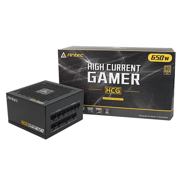 Antec High Current Gamer 650 650W 80+ GOLD Full Modular-image