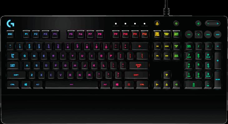 Logitech G213 Prodigy RGB Gaming Keyboard-image