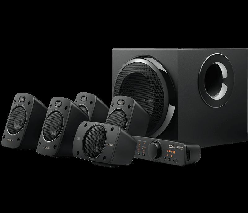 Logitech Z906 5.1 THX, DOLBY DIGITAL AND DTS DIGITAL CERTIFIED SOUND-image